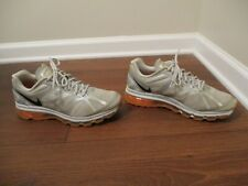 Used Worn Size 10 Nike Air Max 2012 Shoes Gray Silver Orange Black