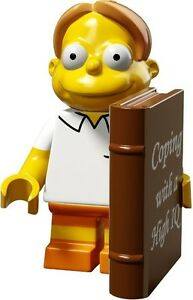 The Simpsons 2 Lego collectible minifig Martin Prince with book