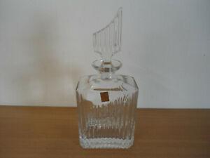 Nachtmann Bleikristall Whisky / Cognac Karaffe Diamantschliff