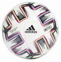 Adidas Fußball EM 2020 Uniforia Competition Matchball Herren weiß schwarz grün
