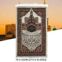 Muslim Prayer Rug Carpet Mat Blanket Pad Portable Eid Turkish Islami