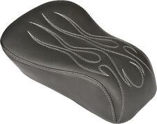 HARDDRIVE PILLION SEAT (FLAME) Fits: Harley-Davidson FLSS Softail Slim S,FLS Sof
