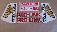Autocollants / Stickers / Decal Honda XL250R - XLR 250 (1982)