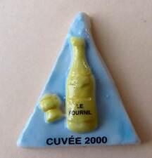 Fève pub perso pour Pâtisserie Le Fournil - 2000 - Bouteille Cuvée 2000