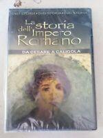 DVD film documentario  LA STORIA DELL'IMPERO ROMANO da CESARE a CALIGOLA nuovo
