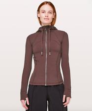 LULULEMON WOMENS Hooded Define Jacket * Sz 4 * Nulu Black Satin