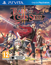 The Legend of Heroes: Trails of Cold Steel II (2) (PS Vita) - BRAND NEW & SEALED