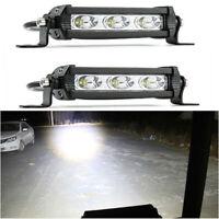 2Pcs 30W LED Work Light Spot For Offroad Tractor Car Driving Headlight ATV UTE