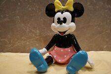 """Schmid Gelenk-Porzellan-Spieluhr ©Walt Disney Handgemalt  """"Minnie Maus"""" *RAR*"""