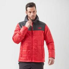 Men's North Face Red / Black Exhale Insulated Hooded  Jacket