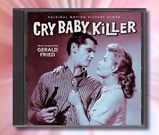 CRY BABY KILLER / MACHINE GUN KELLY Gerald Fried RARE JAZZ SCORES