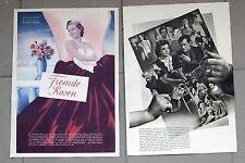20392 Film Affiche Poster Étrangers Roses 1939 Tmotiv Frau dans Robe avec Roses