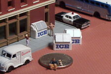 6 Store Front ICE Boxes N Scale Old Style