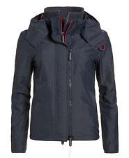 Superdry chaqueta Women pop cremallera capucha Arctic Light azul marino Marga L