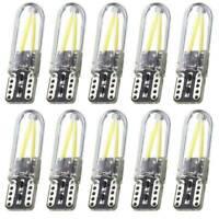 10x COB 8SMD T10 W5W 168 194 501 Silicone LED Car Interior Side Light Bulbs Kit