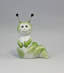 9986137 Porcelain Money Box Cute Caterpillar Wurm Lindner 14x12cm