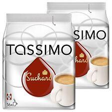 Tassimo Suchard chocolate caliente 2 paquetes 32 T-Discs 32 Bebidas
