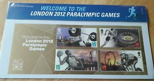 gb presentation pk 475 london paralympics 2012.ROYAL MAIL MINT