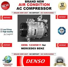 DENSO AIR CONDITION AC COMPRESSOR FEO: 12305811 for MERCEDES BENZ BRAND NEW UNIT