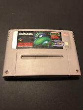Turtles Tournament Fighters Super Nintendo SNES PAL