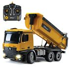 Top Race, 10 Channel RC Construction Dump Truck, TR-212, Hobby Grade 1:14 Scale