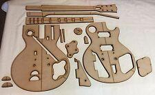 Guitar Building Templates 1958,1959,1960 Les Paul Standard Luthier Template