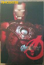 Hot Toys MMS196 Avengers Iron Man Mark VII 7 Battle Damaged Movie Promo