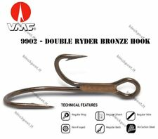 VMC 9902 - Double Ryder  Bronze hook/ In pack 10 pcs