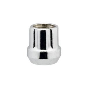100 Chrome 12x1.5 Open End Spline Tuner Lug Nuts for Aftermarket Wheels