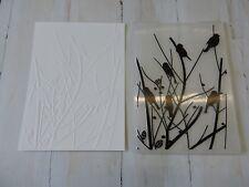 Craft Embossing Folder -  Birds in Branches