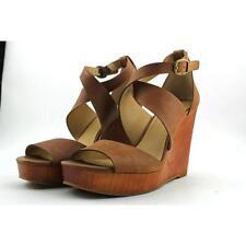Calzado de mujer sandalias con tiras Beige Talla 40