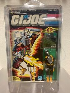 GI Joe BATS 1986 Vintage Mint On Card MOC star case included!!! L@@k!!