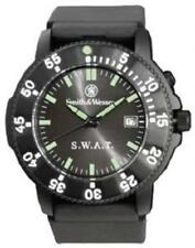 Smith & Wesson SWW-45 Wesson Men's S W A T Watch Black Face & Rotating Bezel Fe