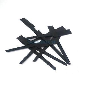 10pcs AIR BODY SAW BLADES 32TPI BI-METAL Black Reciprocating