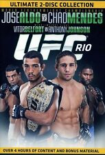 UFC R10 Jose ALDO vs Chad Mendes [2 Discs] (2012, DVD ) New Region 4