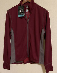 CLUB RIDE RIDELIGHT Womens Lightwgt. Zip Front Cycling / Biking Jacket Small NEW