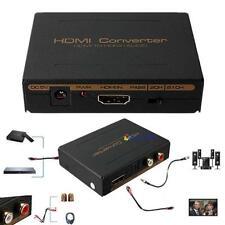 1080P HDMI to HDMI Optical SPDIF + RCA L/R Extractor Converter Audio Splitter GA