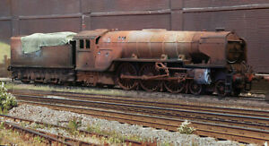 OO heavily rusted and weathered scrapyard BR A1 4-6-2 locomotive. Ref C