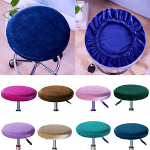 Round Chair Cover Stretch Kitchen Stool Cover Slipcover Cushion Cover Home Decor