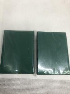 Lenayuyu 2packs Greenblack Protector Card Sleeves YuGiOh Vanguard 62x89mm Glossy
