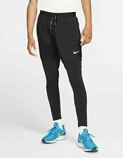 Nike Phenom Men's Running Trousers XL Pants Black Gym Training New