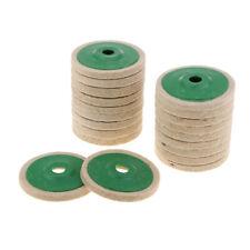 20er Wolle Stützteller Polierfilz Schleifen Pad, für Schleifmaschienen,