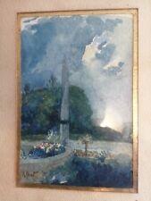 Binet Rene Superbe Aquarelle originale (Binet Peintre, archi 1866 - 1911)