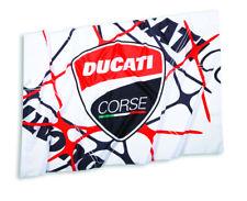 Ducati corse Power bandera bandera Flag Bandiera rojo negro blanco nuevo 2019!!!
