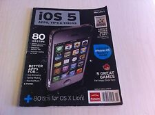 IOS 5 Apps Tips & Tricks Present by Mac Life Rare Magazine Angry Birds Iphone 4s