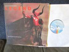 LEGEND OST LP Tangerine Dream Bryan Ferry '86 roxy music tim curry soundtrack !!