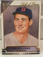 2020 Topps Gallery TED WILLIAMS Hall of Fame Boston Red Sox HOFG-3