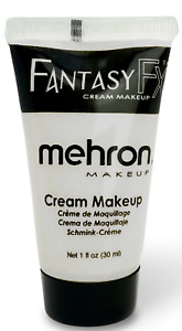 MEHRON FANTASY FFX  WATER BASE_CREAM FACE BODY PAINT STAGE,HALLOWEEN MAKEUP!!