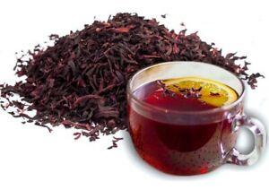 1000g Organic Dried HIBISCUS Flowers Loose Leaf Herbal Tea Brew Premium Quality