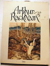 ARTHUR RACKHAM/D.LARKIN/ED DU CHENE/1975/PLANCHES COULEURS PLEINE PAGE/ENFANTINA